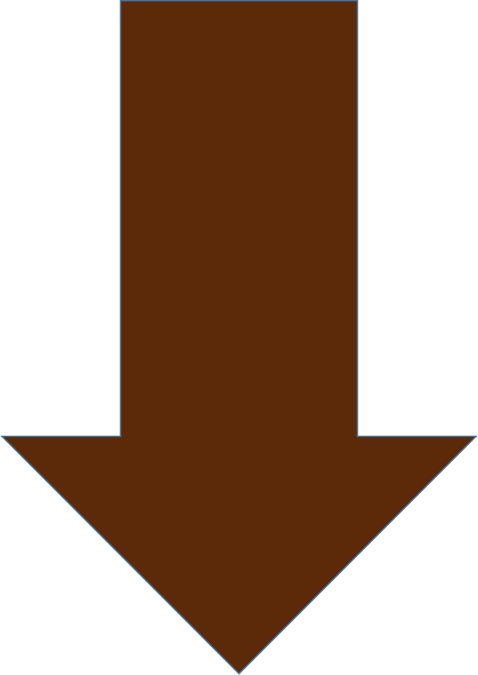 Downward pointing arrow